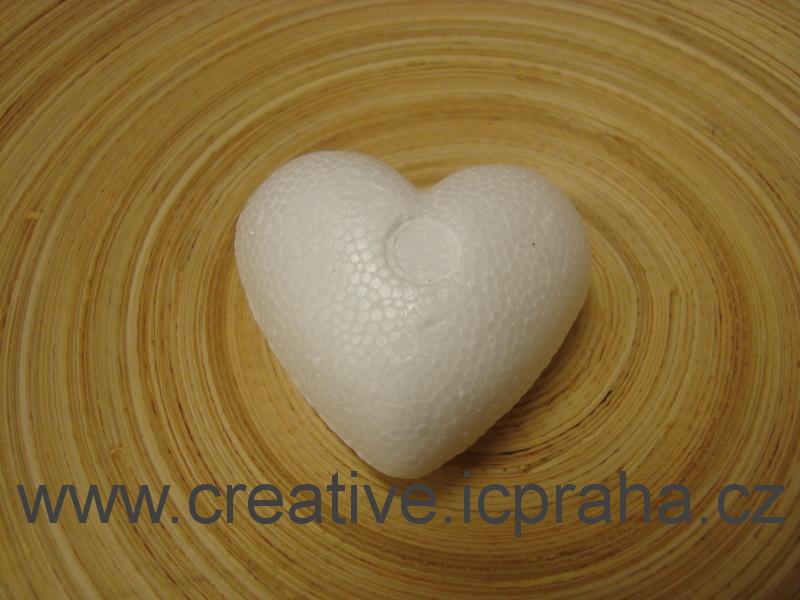 polystyren - srdce 5cm