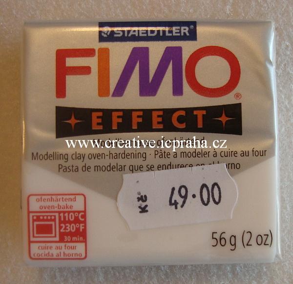 FIMO transparent bilá 014