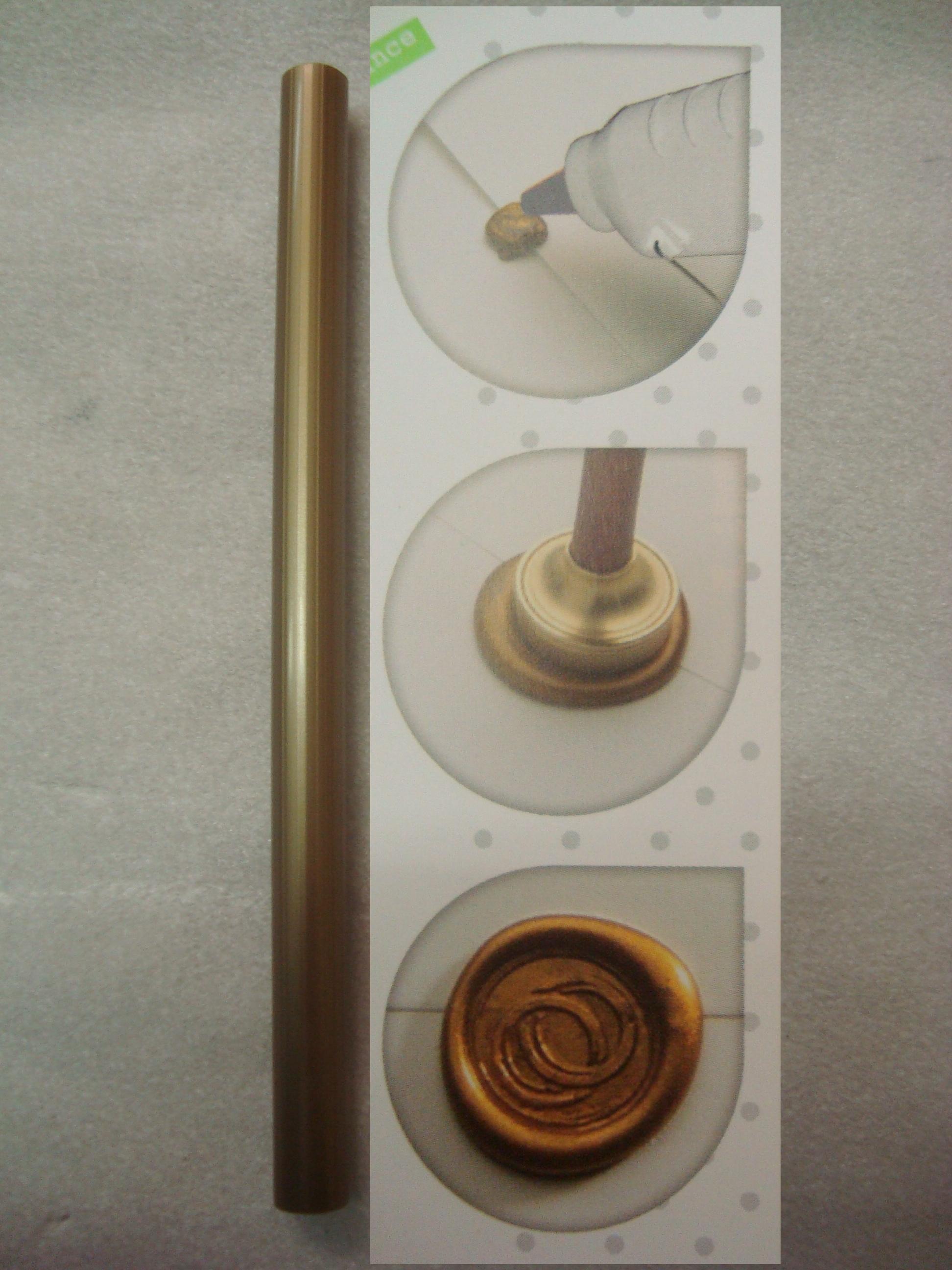 vosk pružný,tyčinka - zlatá
