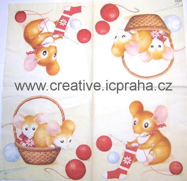 d-myška pletařka IHR