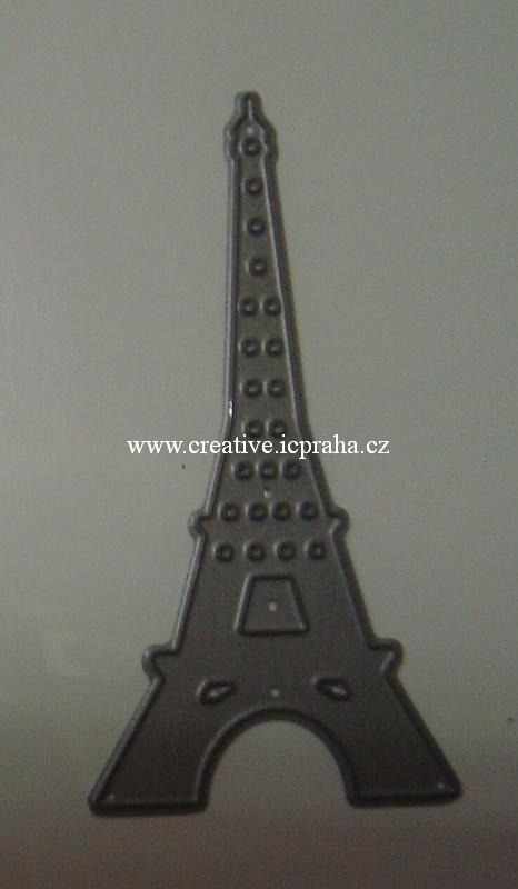 vyřezávací šablona  Die-nam. - Eiffel MFT- 128