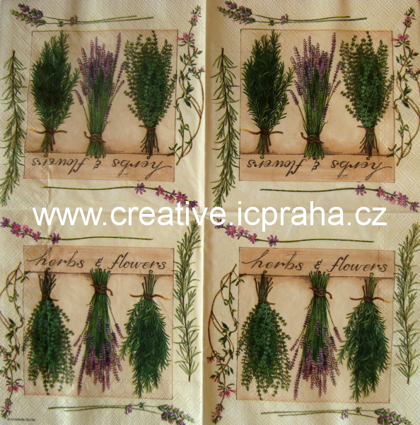 tři bylinkové svazečky AMB 2190