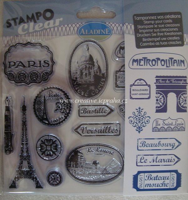 razítka clear - Paris 04196AL