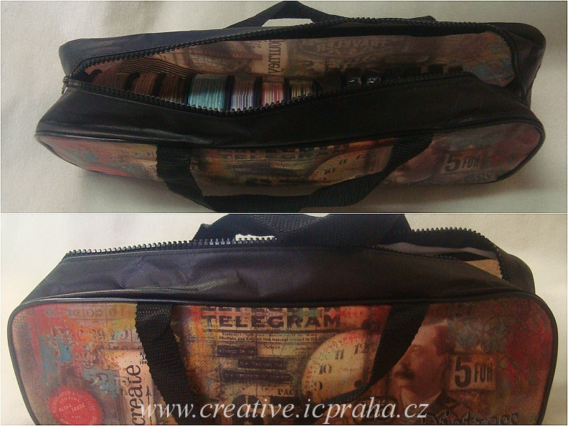 Taška Tim Holtz - Distress Bag 37x12x7,5cm