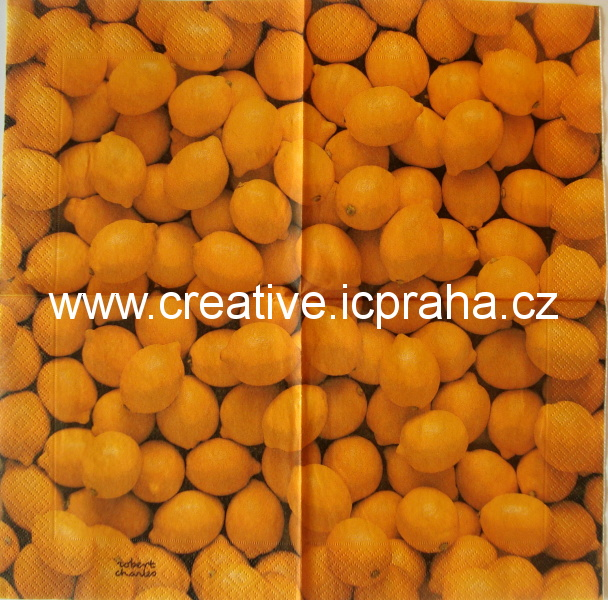 citronový/tmavý podklad  DUNI