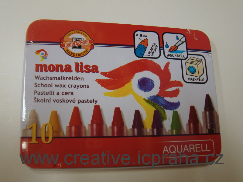 voskovky 8258/10ks MONA LISA akvarel
