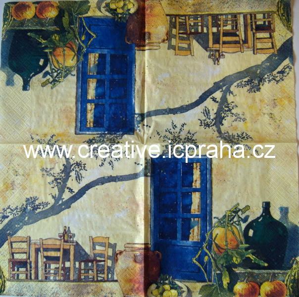 dveře modré 227  TI-FLAIR