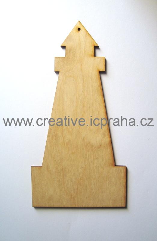 podložka/závěs maják cca 20x10cm