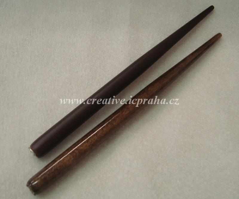 násadka mahagon+ořech dl.16,7cm