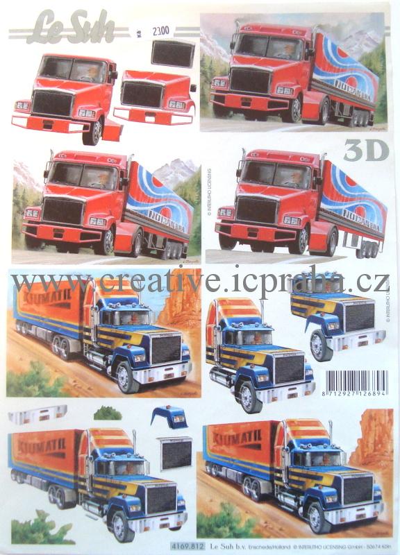 3D kamiony
