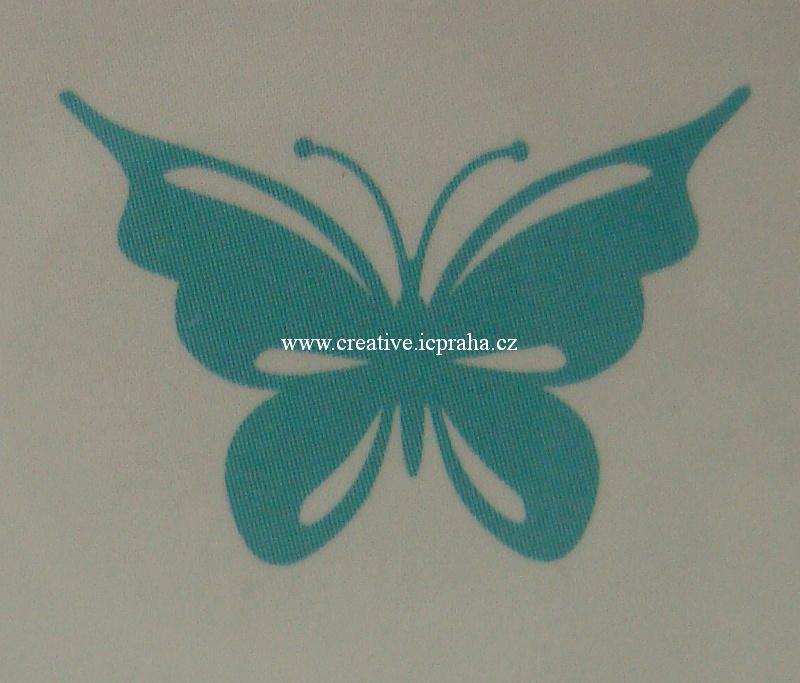 vyřezávací šablona  Ultimate crafts - Motýl