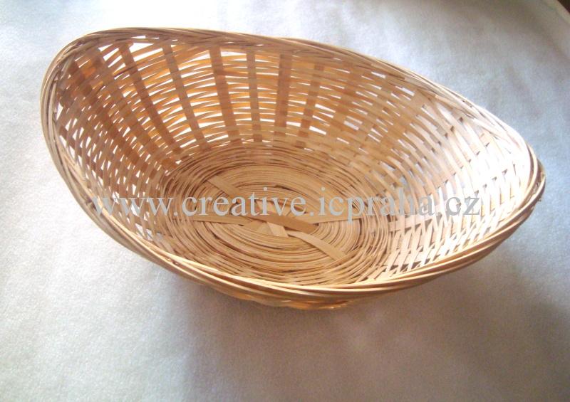 Ošatka - bambus ovál