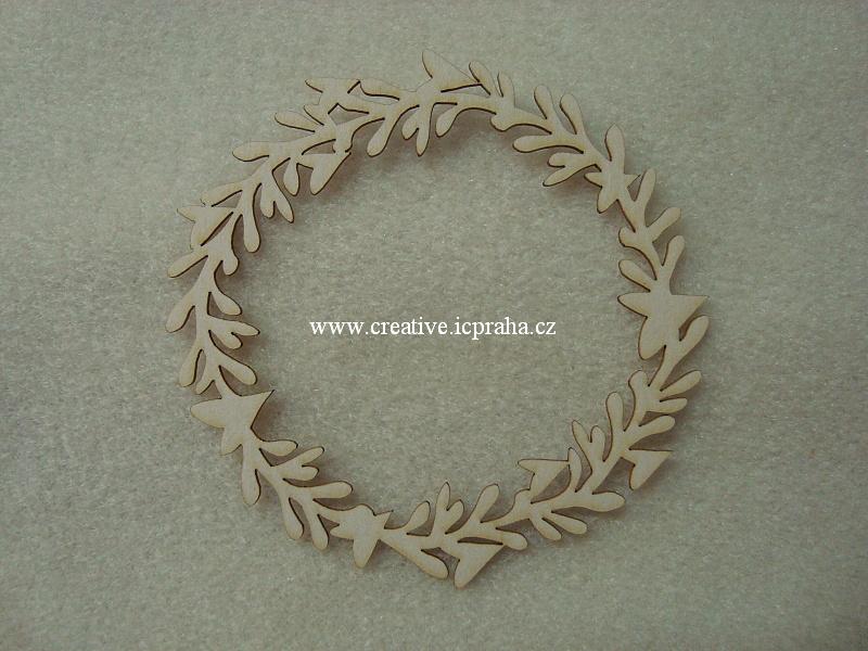 výřezy ornamenty/bordury spirálky 4 ks 6,5x3cm