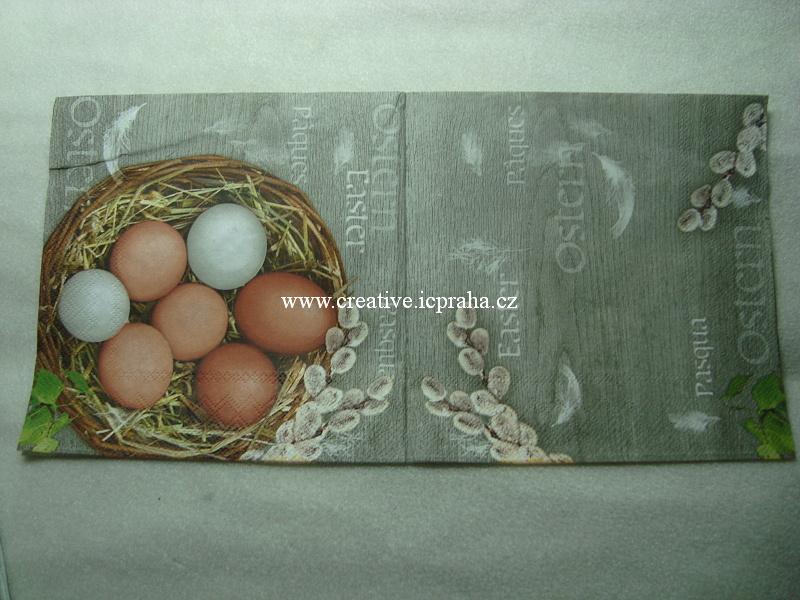 košík s vejci Maki