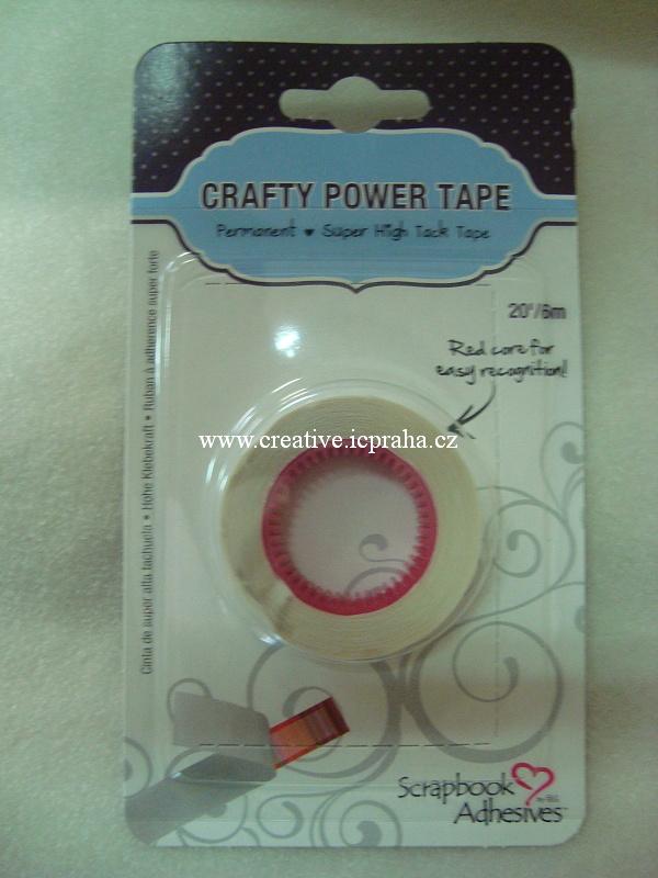 Roller lepící páska - 6,5mmx6m náhradní náplň