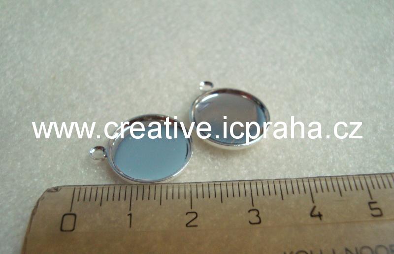 lůžko s očkem kulaté prům.15mm stř