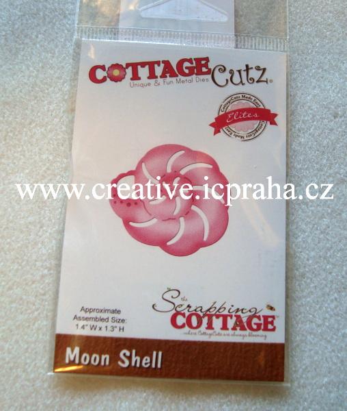 vyřezávací šablona  COTTAGE Cutz Mušle CCE280
