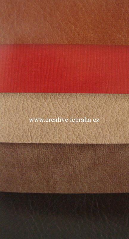 koženka 17x27cm - různé barvy 1ks
