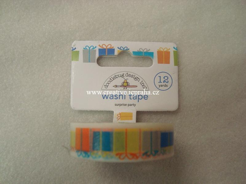 Washi páska - balíčky 1,5cmx10m 4117  DD