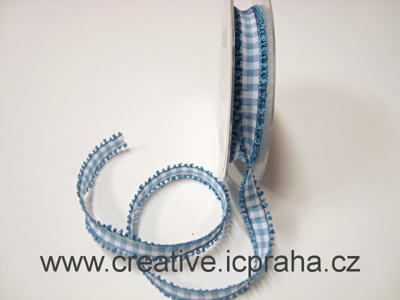 Stuha  kostka s uzlíky - 15mm