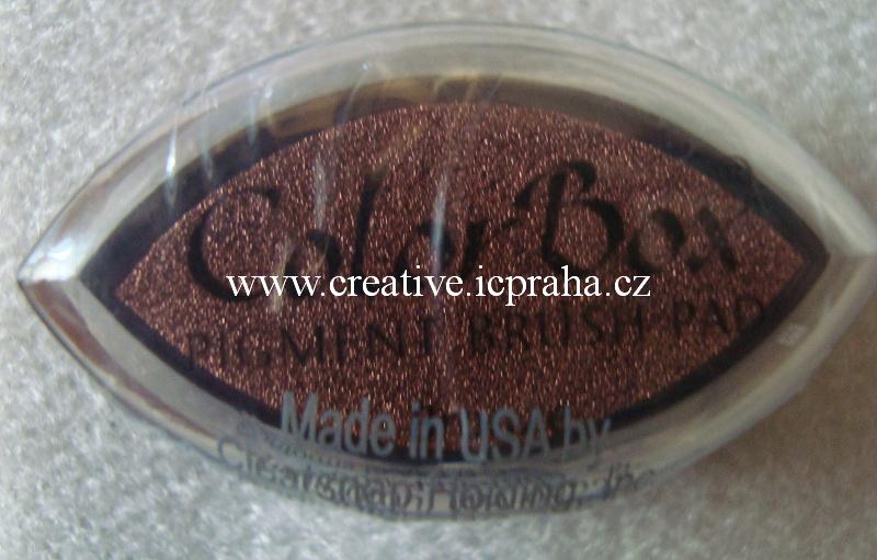 Color Box met. - bronz/bronze SLEVA