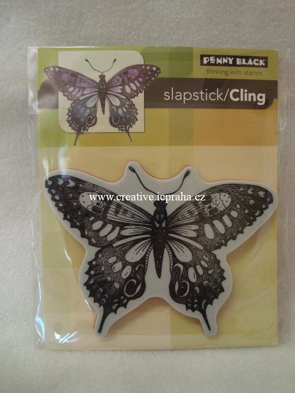 razítka Cling CS - Motýli koláž cca7 x 9cm