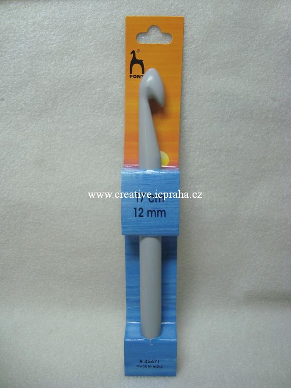 háček plastový vel. č.12 (17cm)
