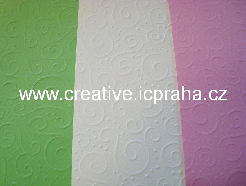 ražený papír 220g/m2 A4 Milano He