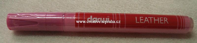 popisovač Leather 6ml/1,2mm růžová