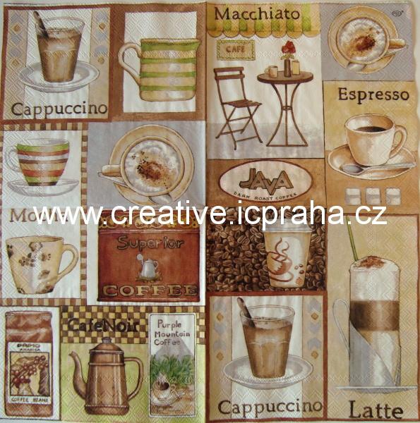 káva - Macchiato ,Espresso,Ihr