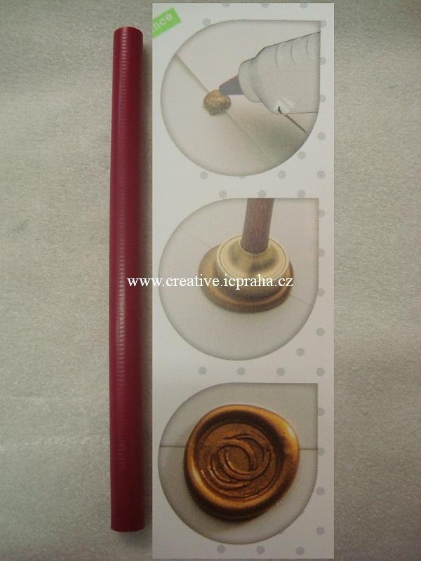 vosk pružný,tyčinka - purpurová
