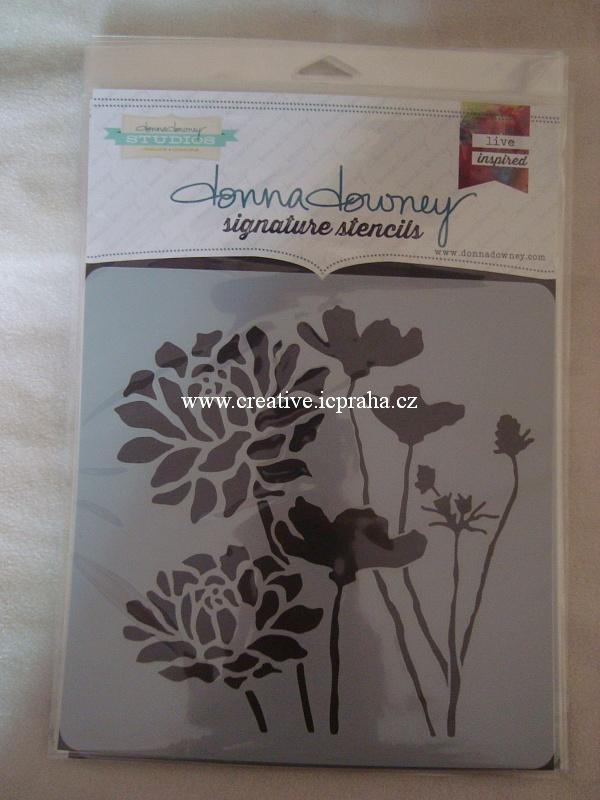 iStencils 20x20cm - Mandala Aztécká