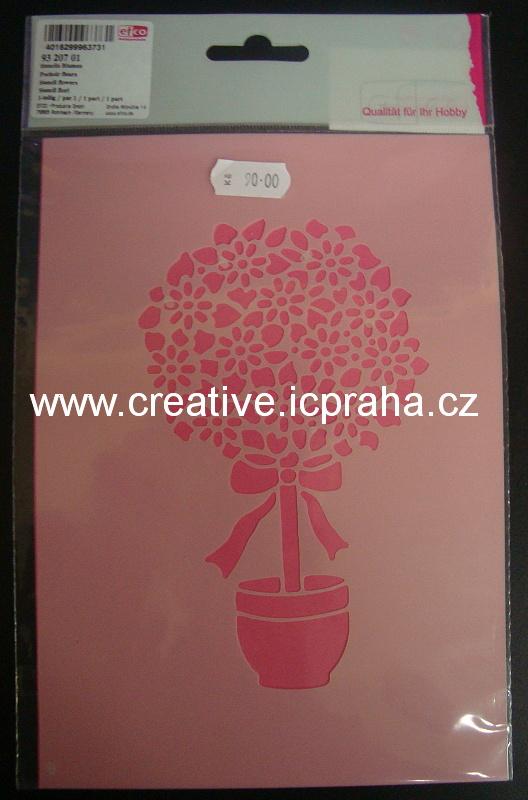 šablona Stromek v květináči 9320701