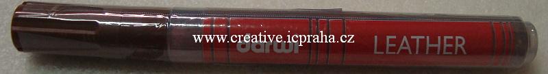 popisovač Leather 6ml/1,2mm hnědá
