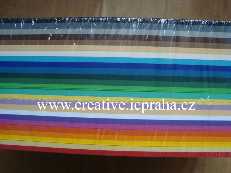 tónpapír A4 130g/m2 - 25 barev/ 500ks č.64/50009