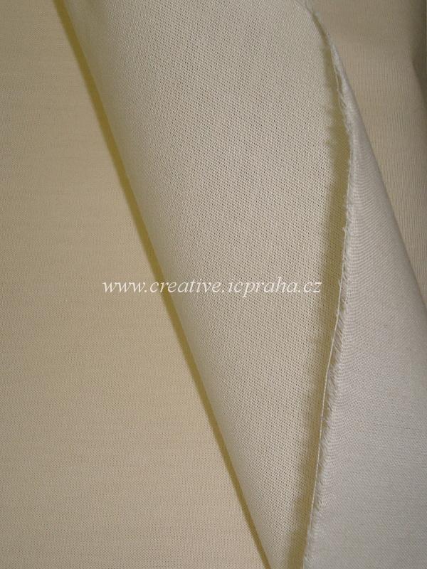 popelín režný š.160cm, 133g/m2, 100%bavlna, I.jak.