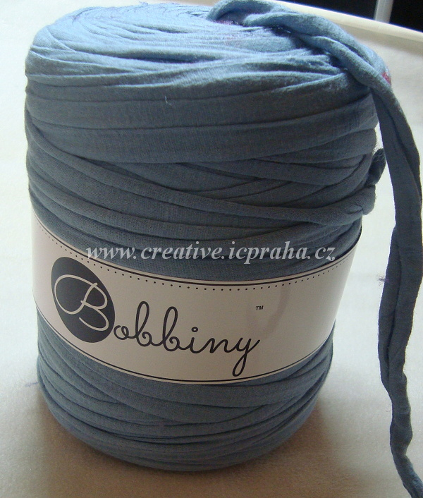 Bobbiny120m - modrá denim jasný 0128