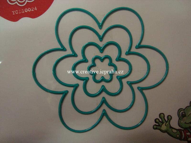vyřezávací šablona  YCD - Flowers 10023
