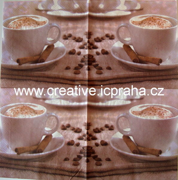 cappuccino se skořicí MIX
