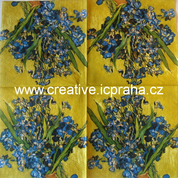 Modré irisy - Van Gogh AMB6140