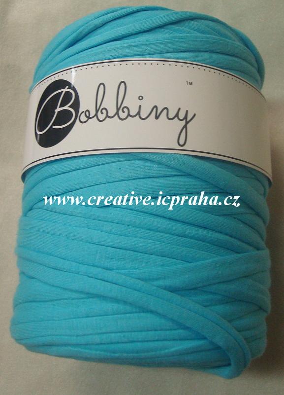Bobbiny120m - modrá pastel