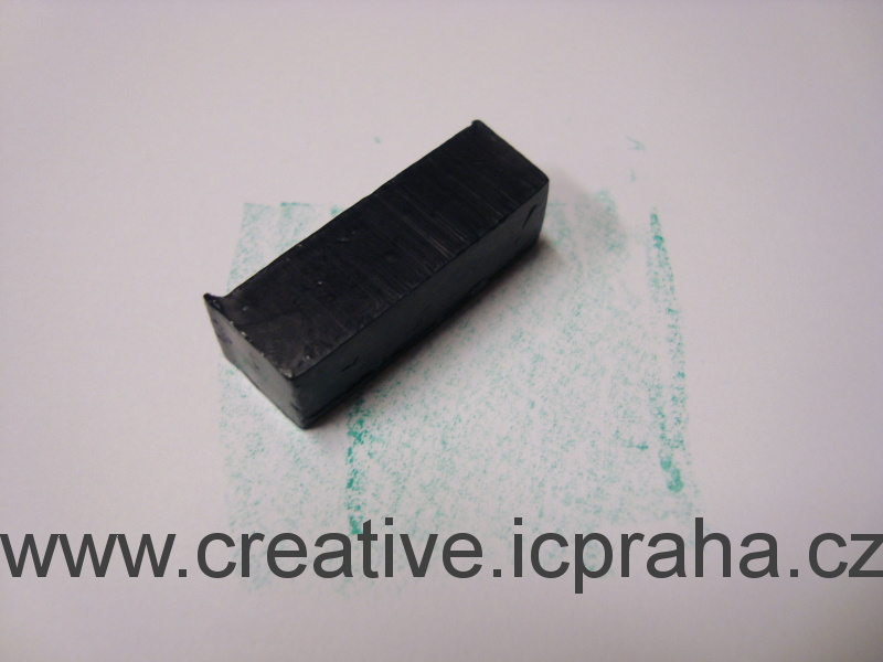 pigment.kostka zelená (k obarv.0,5kg vosku)