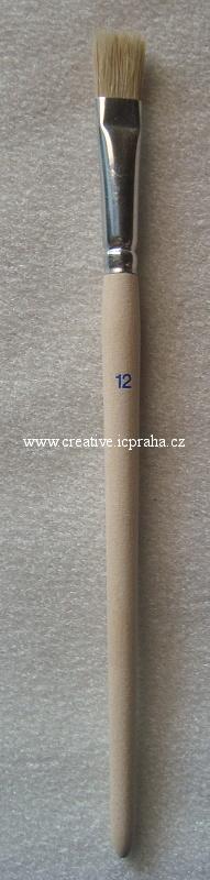 štětec NATUR č.12 plochý 981/12