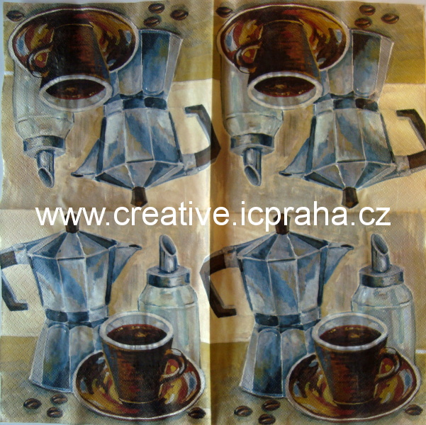 káva - konvička a cukřenka VIVA