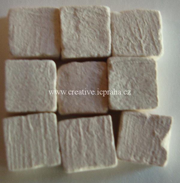 mozaika Liliput Ceramic cca25g L81-05b bílá neglaz
