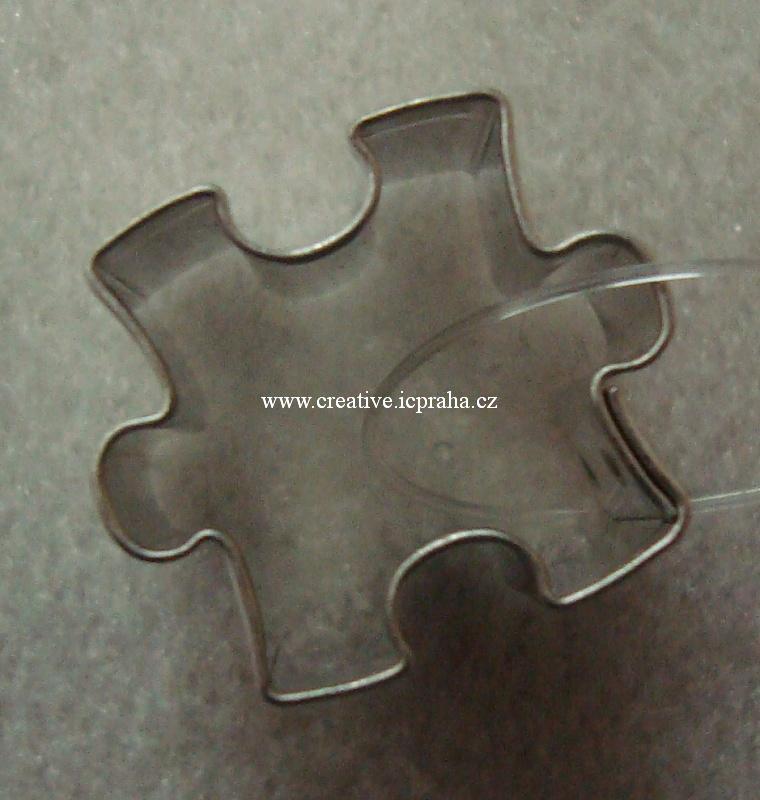 vykrajovátko CF puzzle mini 2x2cm