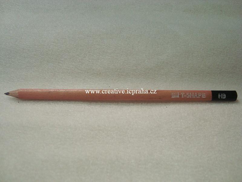 Tužka grafitová HB - trojhranná