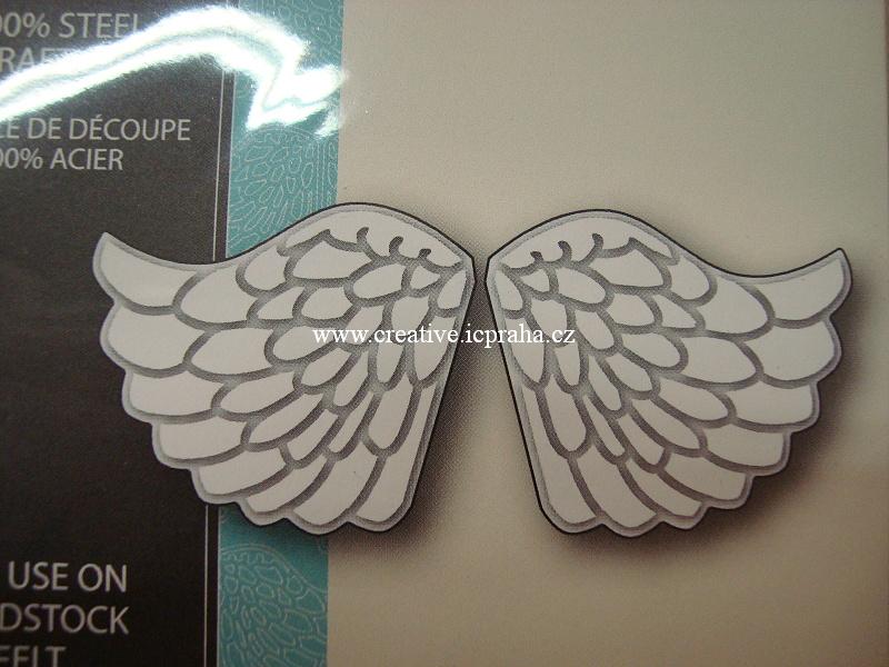 vyřezávací šablona  Memory Box - Andělská křídla
