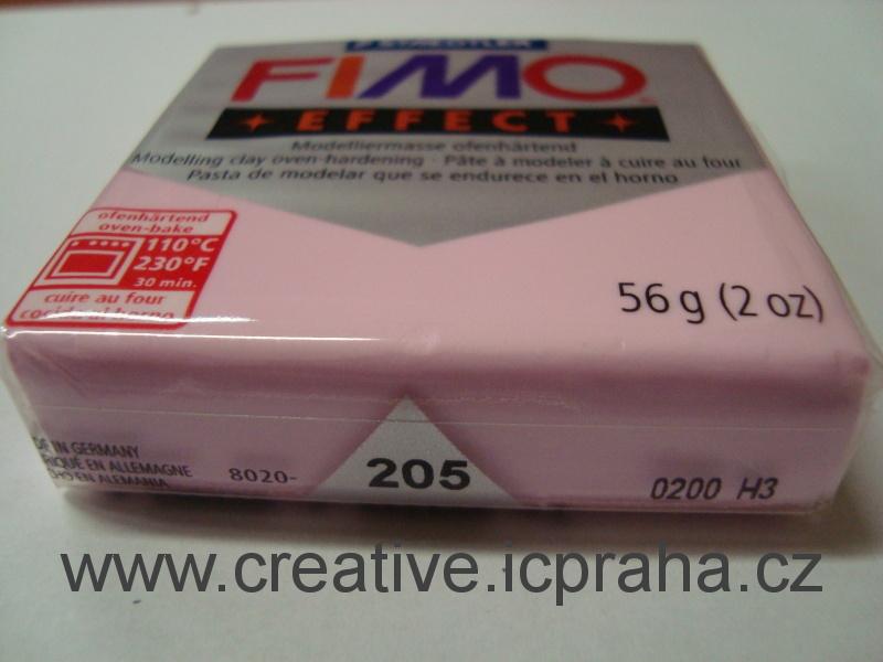 FIMO effect pastel růžová 205